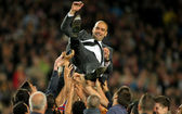 FC Barcelona coach Guardiola — Stock Photo