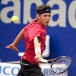 Serbian tennis player Filip Krajinovic - Stock Photo