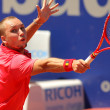 Belgian tennis player Steve Darcis - Stock Photo