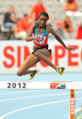 Daisy Jepkemei of Kenia during 3000 Metres — Stock Photo