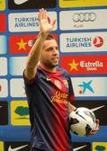 Barcelona's new signing Jordi Alba — Stock fotografie