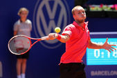Belgian tennis player Steve Darcis — Stock Photo