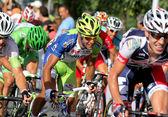 Liquigas cannondale italský cyklista cristiano salerno — Stock fotografie