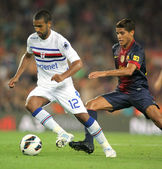 Fernando Tissone of UC Sampdoria — Stock Photo