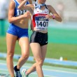 Sae Matsumoto of Japan during 10000 meters walk event — 图库照片