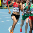 Manal El Bahraoui of Morocco during 800 meters event — Stock Photo #19287511
