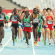 Stock Photo: Competitors of 5000 meters