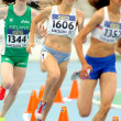 Marusa Mismas of Slovenia during 800 meters event — 图库照片