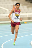 Hamza Driouch of Qatar during 1500 meters — Stock Photo