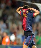 David Villa of FC Barcelona — Stock Photo