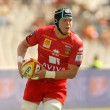 USAP Perpignan Luke Narraway drive the ball — Foto Stock