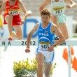 Italo Quazzolof Italy during 3000m steeplechase event — Stock Photo #19341449