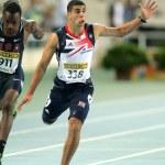 Adam Gemili of Great Britain during 100 meters event — Stock Photo #19341539