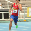 Wesley Vazquez of Puerto Rico during 800m event — Foto de Stock
