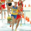 Ivan Savka of Ukraine during 3000m steeplechase event — Stock Photo