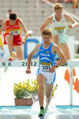 Italo Quazzola of Italy during 3000m steeplechase event — Stock Photo
