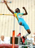 Ryan Ingraham of Bahamas during Hight Jump event — Stock Photo