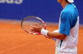 Tennis rebound — Stok fotoğraf