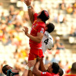 Luke Charteris of USAP Perpignan - Stock Photo