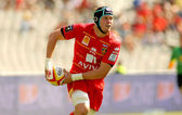 Luke Narraway of USAP Perpignan — Stock Photo