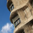 Detail of Pedrera Also known as Casa Mila — Stock Photo