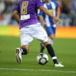 Soccer action — Stockfoto