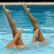 Synchronized Swimmers — Stock Photo #21596143