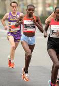 Queniano corredor de meia distância josephine conceição — Foto Stock
