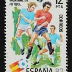 Vintage Spanish stamp — Stock Photo #22058477