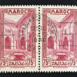 Stamp printed in Morocco — Stock Photo