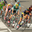Pack of the cyclists — Stock Photo #22845396