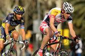 Tim Wellens and Karsten Kroon — Stock Photo