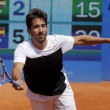 Stock Photo: Spanish tennis player Marc Lopez