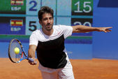 Spanish tennis player Marc Lopez — Stock Photo