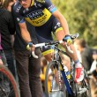 Nicki Sorensen of Saxo Bank Tinkoff Team — Stock Photo
