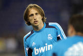 Luka Modric of Real Madrid — Stock Photo