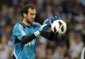Diego Lopez of Real Madrid — Stock Photo