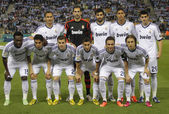 Real Madrid team posing — Stock Photo