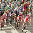 Pack of the cyclists ride — Stock Photo #25856061
