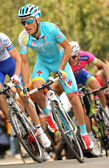 Alexsandr Dyachenko of Astana — Stock Photo