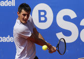 Australian tennis player Bernard Tomic — Stock Photo