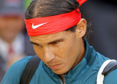 Spanish tennis player Rafa Nadal — Stock Photo