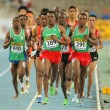 Stock Photo: Competitors on 5000 meters