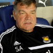 Sam Allardyce coach of West Ham United — Stock Photo