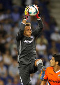 Diego Alves of Valencia CF — Stock Photo