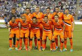 Valencia CF Team — Stockfoto