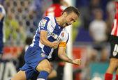 Sergio Garcia of RCD Espanyol — Foto Stock