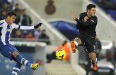 Carlos Vela(R) of Real Sociedad — Stock Photo