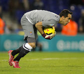 Claudio Bravo of Real Sociedad — Stock Photo