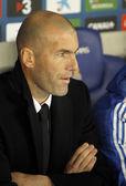 Real Madrid Sporting Diretor Zinedine Zidane — Stock Photo